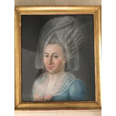 Pastel Late 18th Century