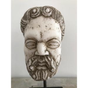 Antique Marble Head