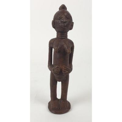 Female Tchokwé Statuette -21 Cm