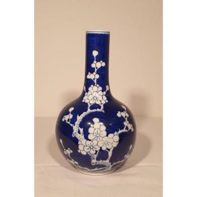Chine - Vase Bouteille - 23.5 Cm