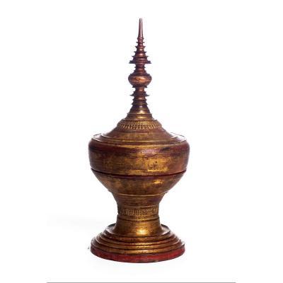 Stupa (birmanie) - H 60 Cm