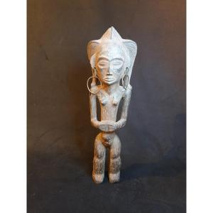 Tchokwe (RDC) - statuette féminine - 46 cm