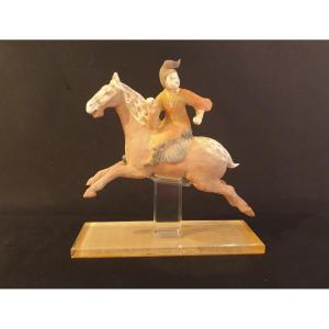 Chine - Joueuse De Polo époque Tang