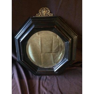 Miroir ancien sur proantic haute poque renaissance for Miroir hexagonal cuivre