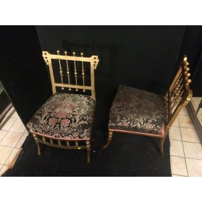 Pair Of Fireside Chairs
