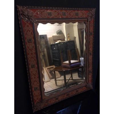 Miroir De Style Renaissance, époque Napoléon III