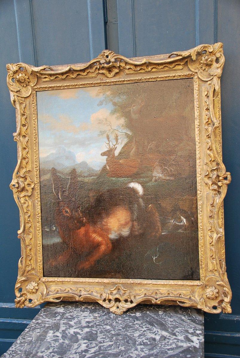 Lièvre Courrant ,école Flamande Du XVII, Nicasius Bernaerts