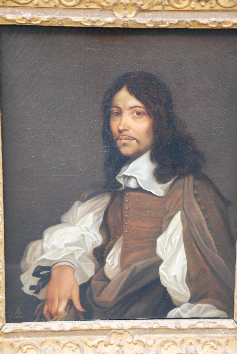 Portrait Of A Man After Sebastien Bourdon. XVII