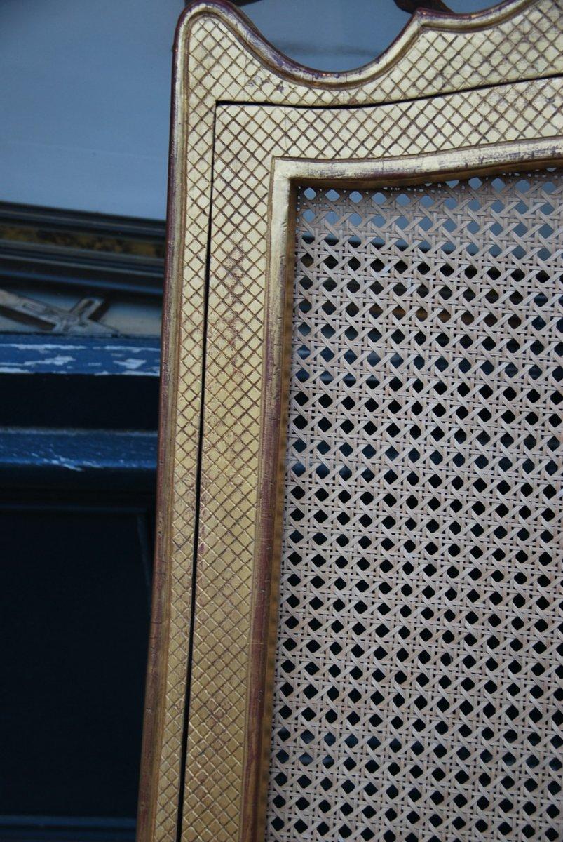Important Et Large Fauteuil D Apparat En Bois Doré D époque Regence Début XVIII-photo-7