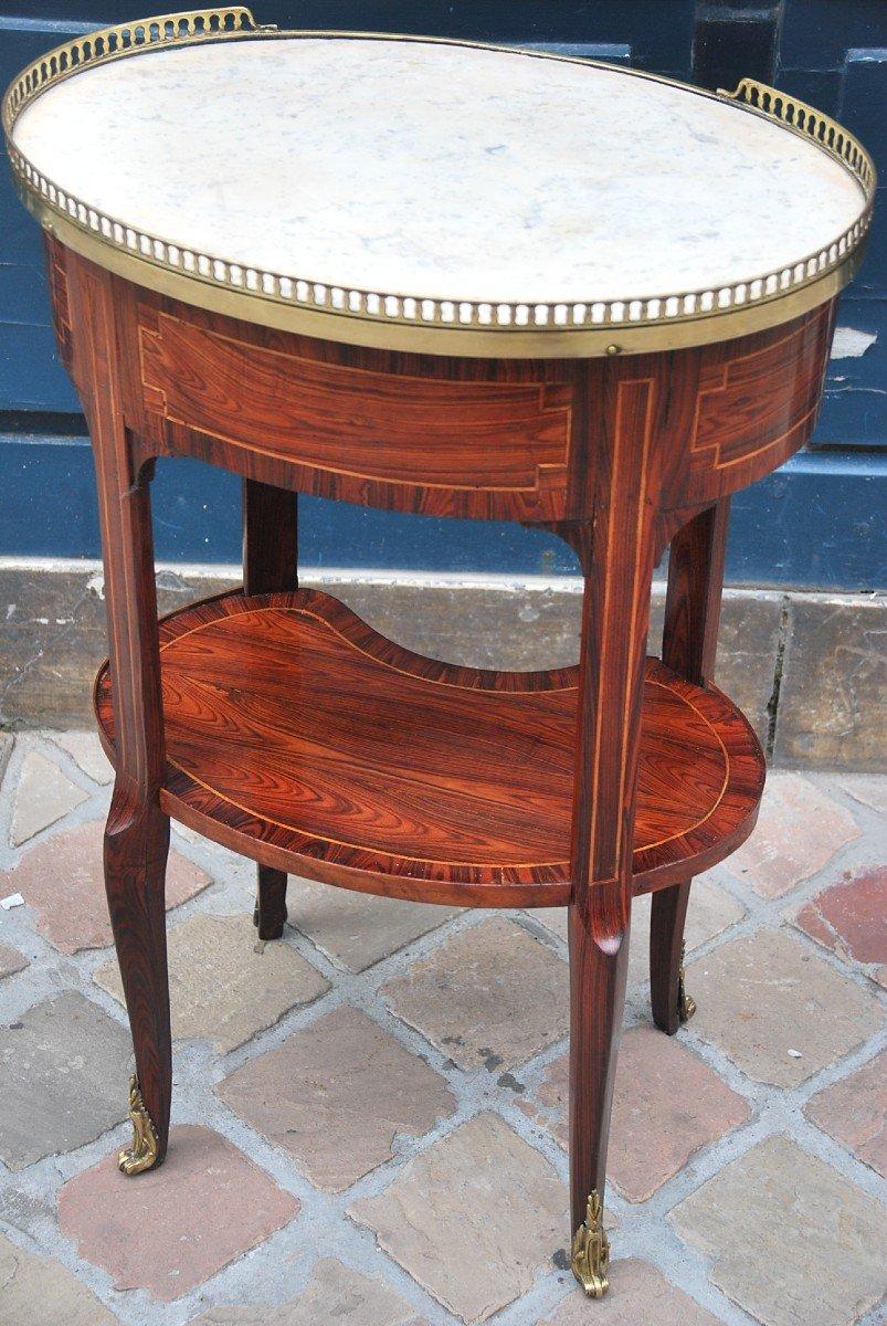 Table Chiffonière En Bois De Violette D époque Louis XVI-photo-2