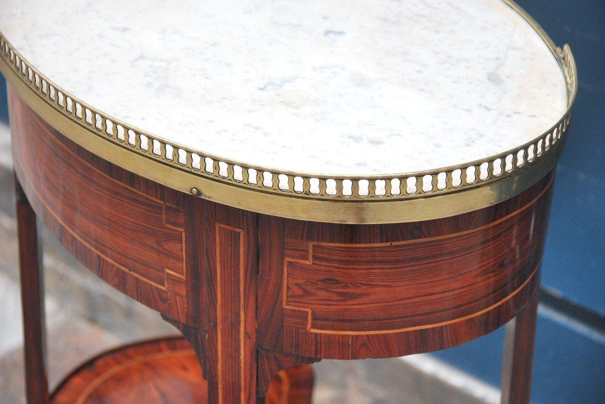 Table Chiffonière En Bois De Violette D époque Louis XVI-photo-4