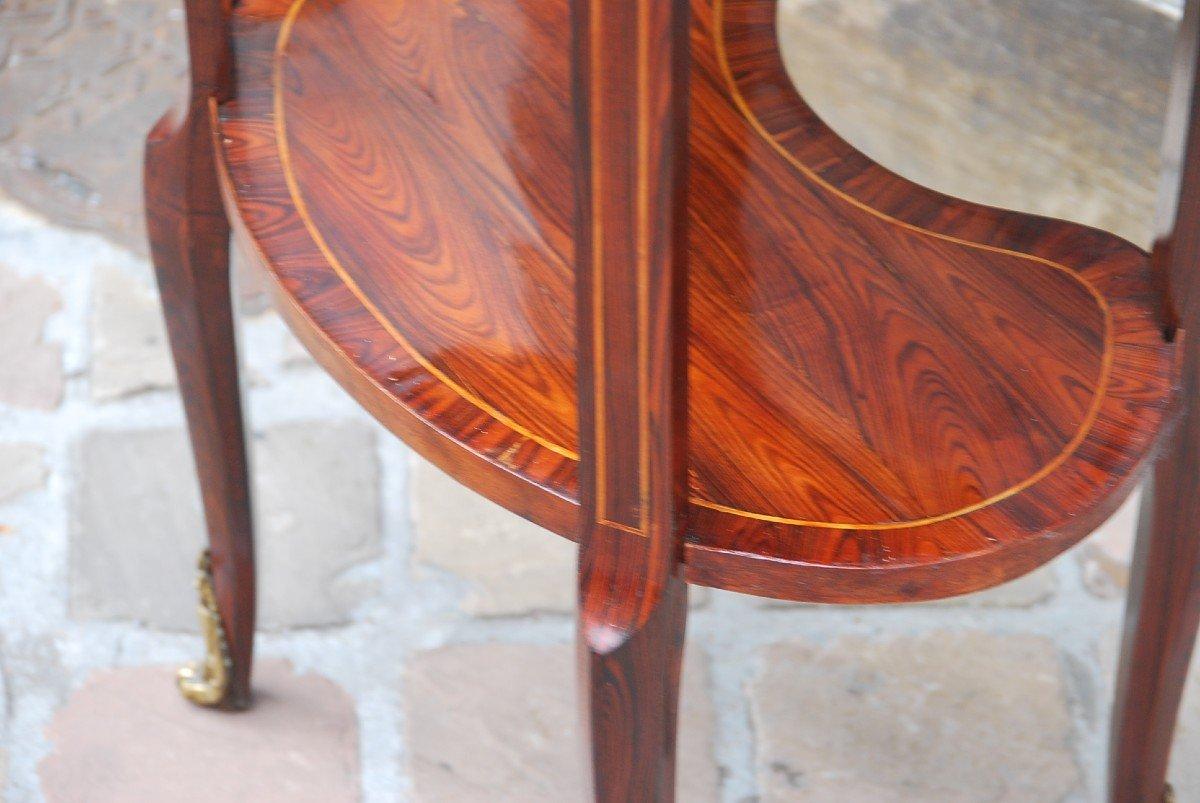 Table Chiffonière En Bois De Violette D époque Louis XVI-photo-5
