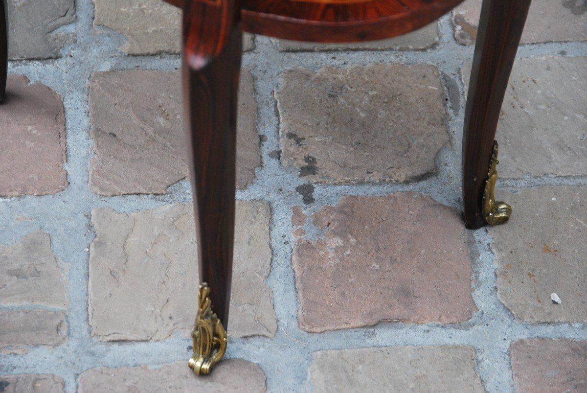 Table Chiffonière En Bois De Violette D époque Louis XVI-photo-6