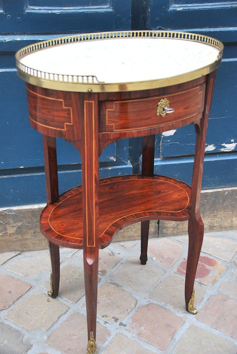 Table Chiffonière En Bois De Violette D époque Louis XVI