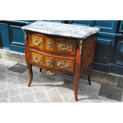 Commode  D époque Louis XV , XVIII