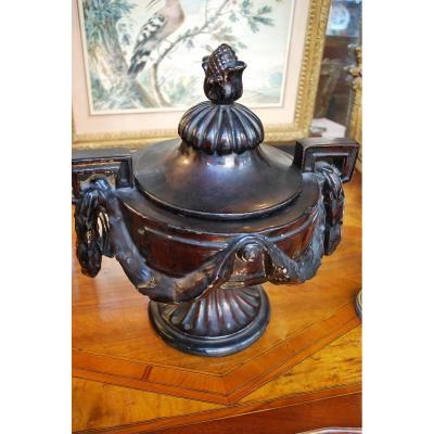 Vase Sur Piedouche XIX