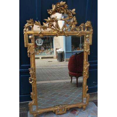 Grande Et Belle Glace , Travail Provencale Du XVIII, époque Louis XVI
