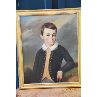 Portrait D Un Jeune Garçon XIX