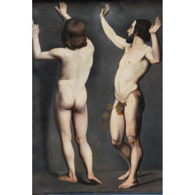 Academies D Hommes école XIX , Suiveur De Ingres