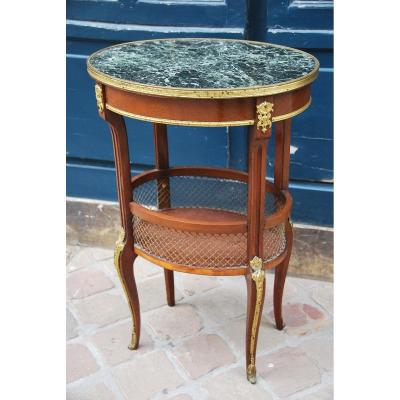 Small Louis XVI Style Living Room Table