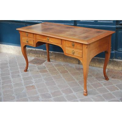 Louis XV Flat Desk Stamped With Ax