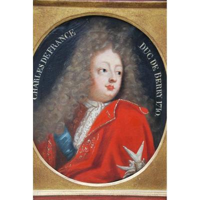 Portrait XVIII , Représentant Charles De France , Duc De Berry,