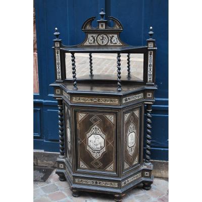 Furniture D Entre Deux XIX Attributed To Giavanni Battista Gatti
