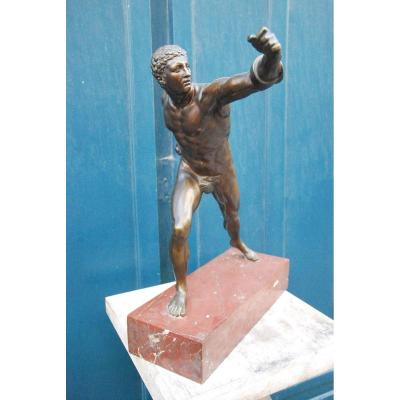 Important Bronze The Borghese Gladiator Early XIX