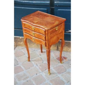 Small Chiffonière Table D Louis XV Period .xviii