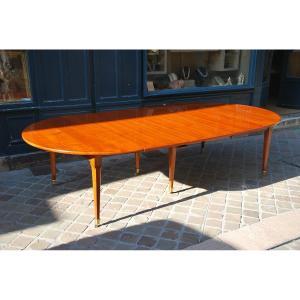 Important And Beautiful Mahogany Table D Louis XVI