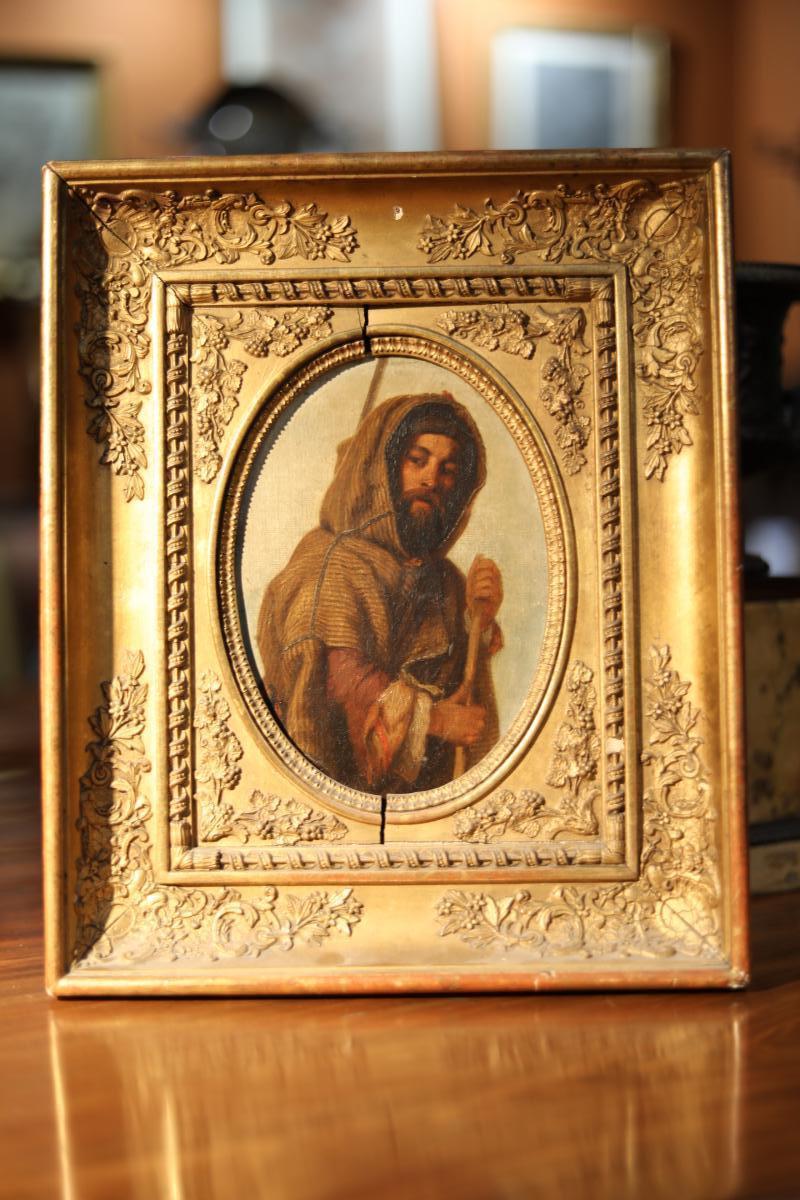 Portrait De Chasseur à Burnous