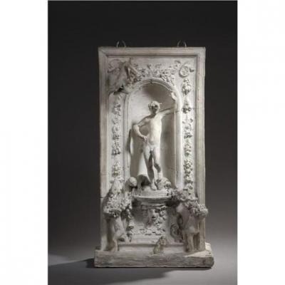 Maquette De Fontaine à La Gloire De Bacchus