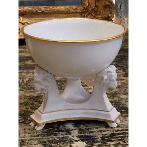 Coupe En Porcelaine De Sevres