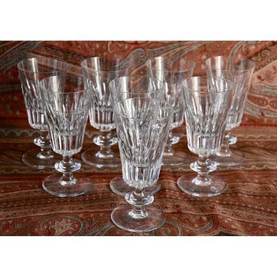 8 Glasses Daum France