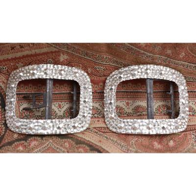 Pair Of Silver Shoe Buckles