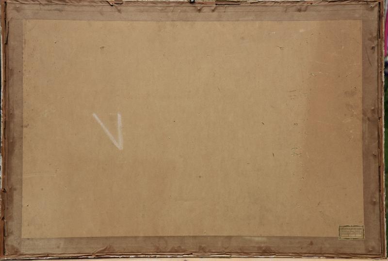 Poucette De Saint Germain Huile Sur Papier-photo-3