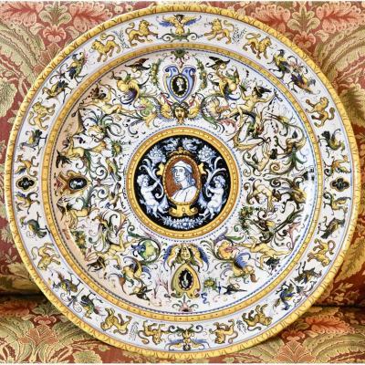 Plat Italien Style Renaissance XIX ème