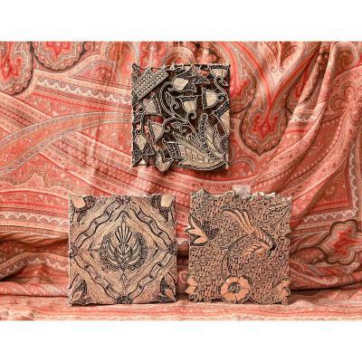 Tampons Tjap Batik En Cuivre