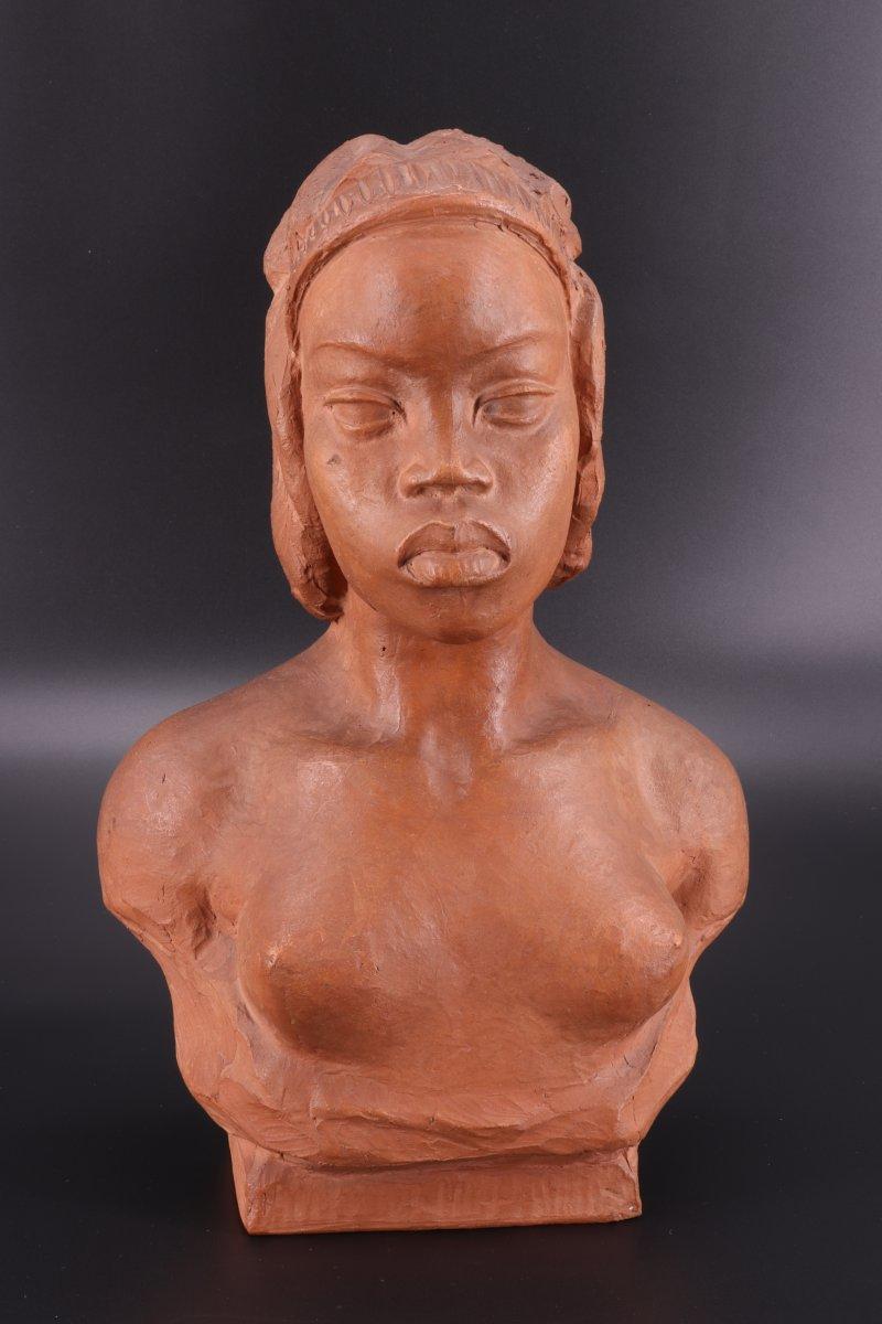 Arthur Dupagne (1895-1961) Femme Africaine