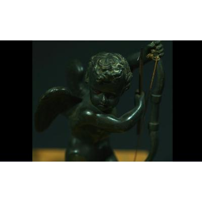 Cupidon, Ange En Bronze Charles X.