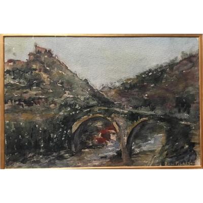 D.h.w. Filarski  Paysage Dans Le Sud De La France