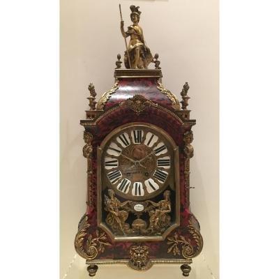 Grande Horloge  Carrtel Boulle , Hauteur 85 Cm