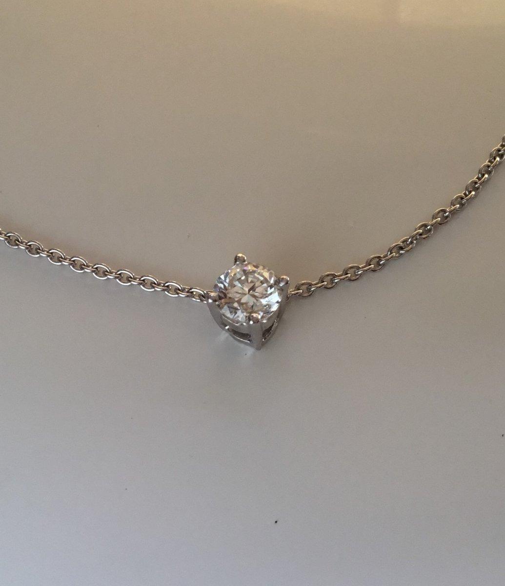 Brilliant Cut Diamond Vvs1 / G, 0.50 Carats