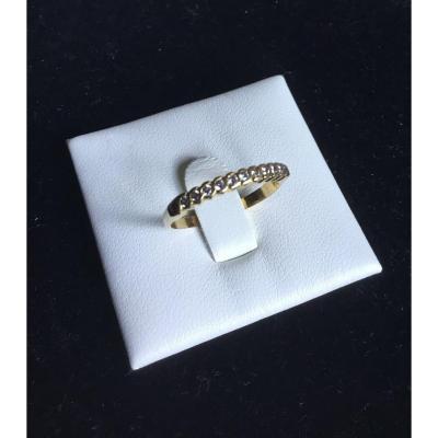 Alliance en or et diamants