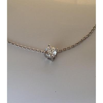 Diamant taille brillant VVS1/G, de 0,50 carats