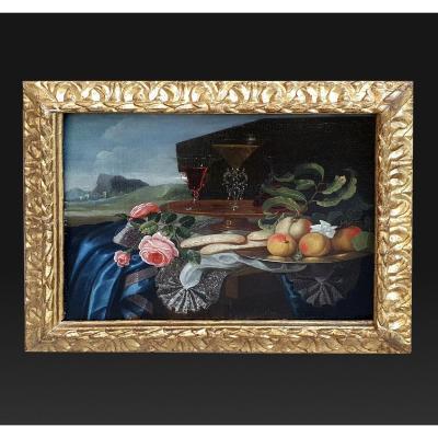 Maximilian Pfeiler, Tableau Ancien représentant une nature morte