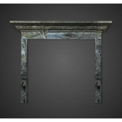 Ancienne Cheminée italienne en marbre du XIXe siècle