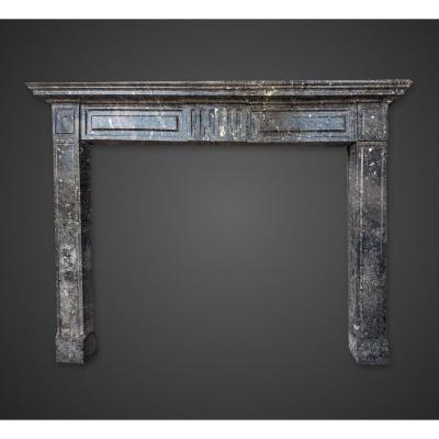 Ancienne Cheminée en marbre du 19e siècle, Italie