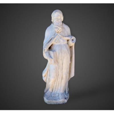 Sculpture en pierre d'origine italienne