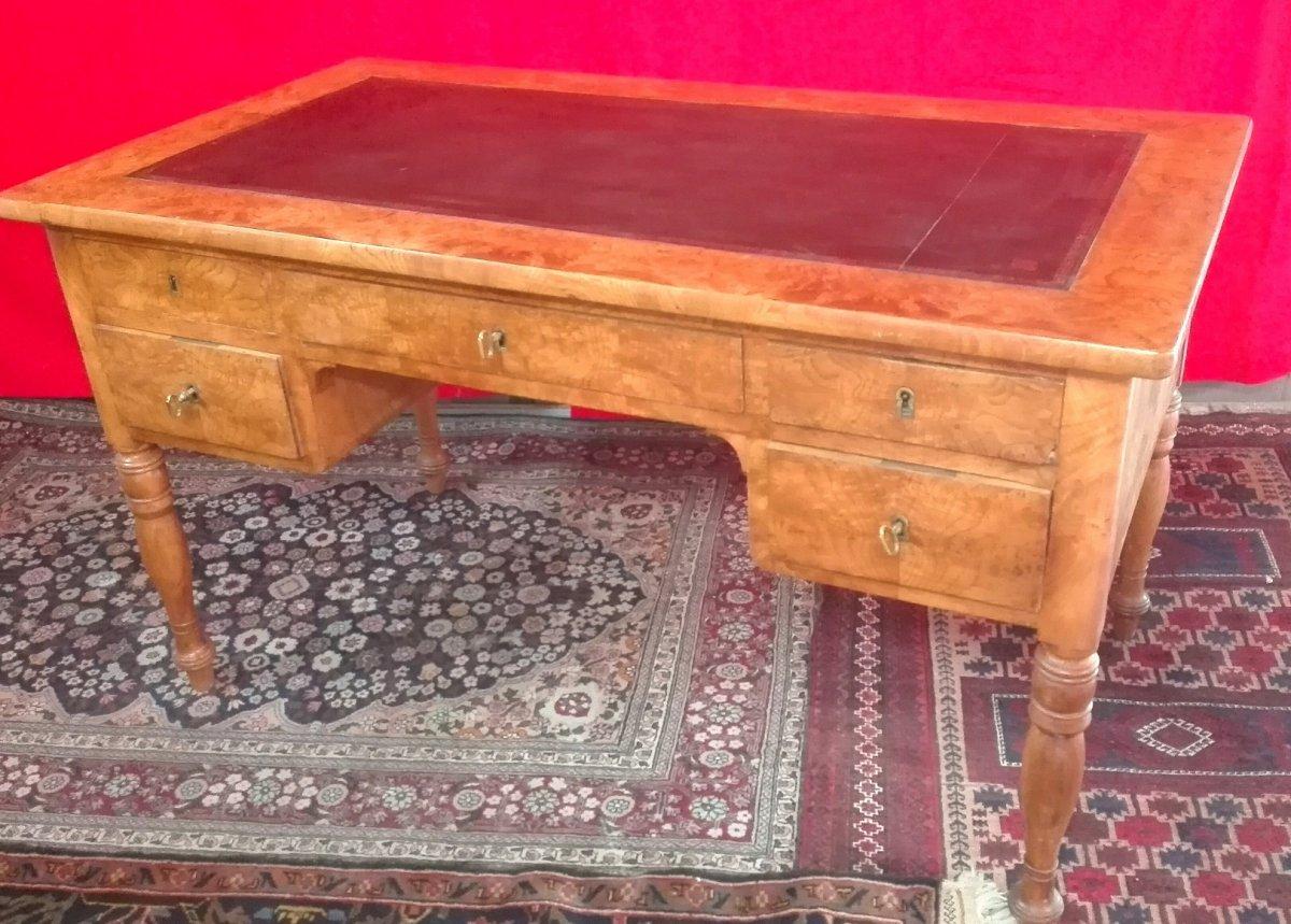 Flat Desk In Elm, 19 Th